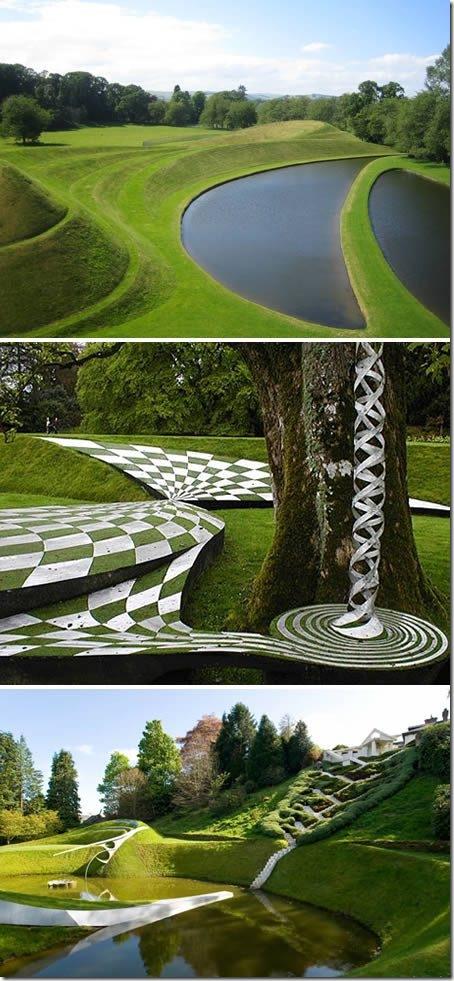 Космическата градина, Шотландия