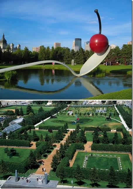 Градината със скулптурите, САЩ