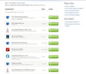 plugins update
